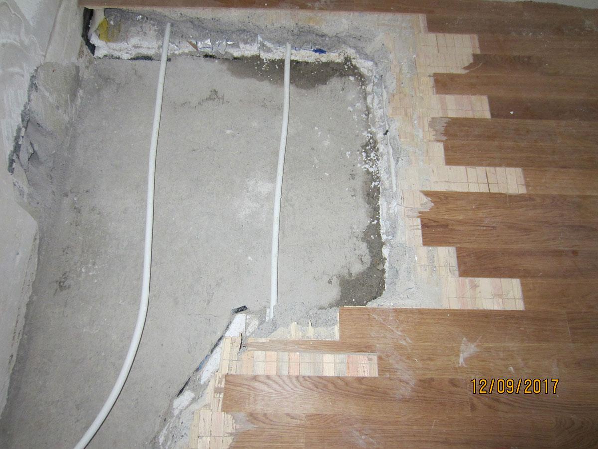Wasserschaden Sanierung